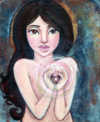 Heart Milagro by KatCanPaint