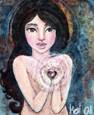 Sacred Heart by KatCanPaint