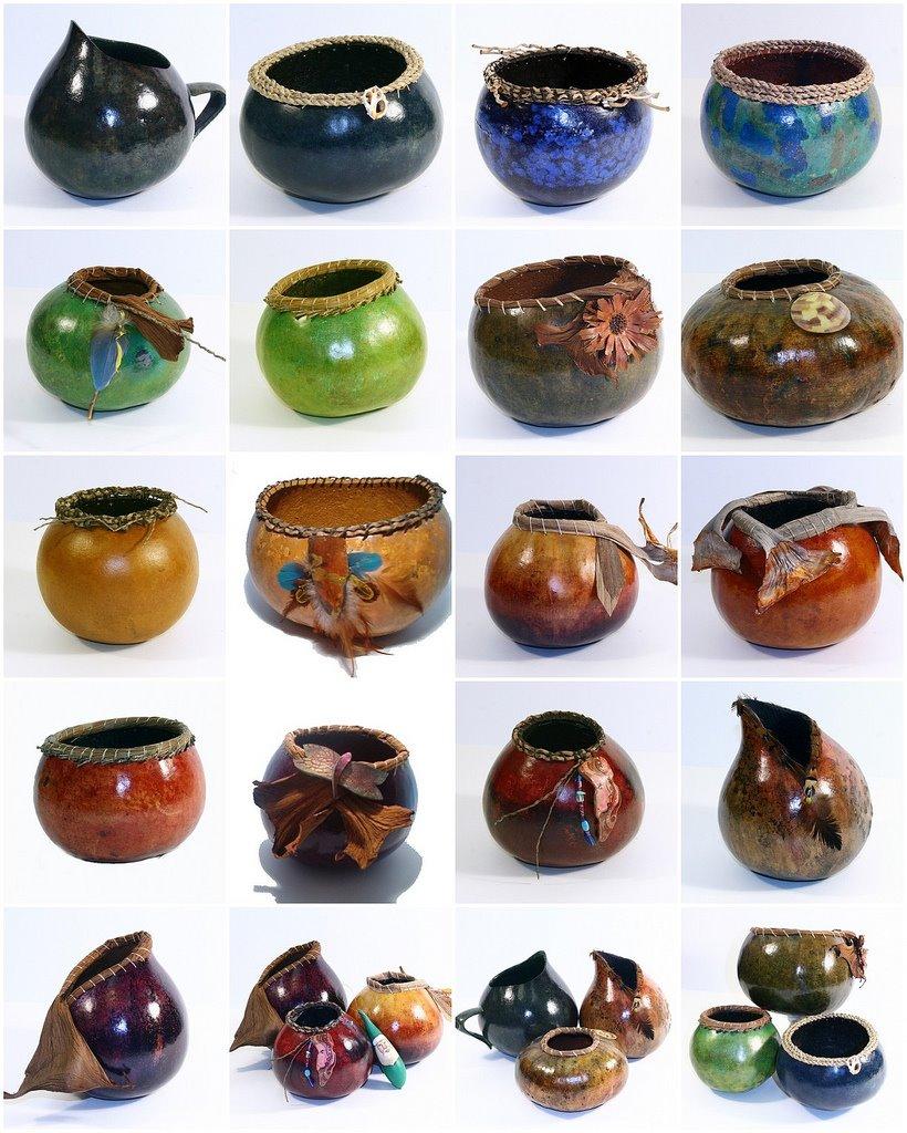 gourd art bowl
