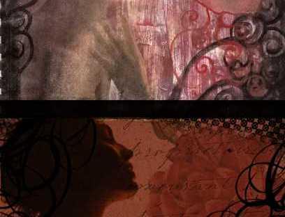 art journal page 11 worry by KatCanPaint