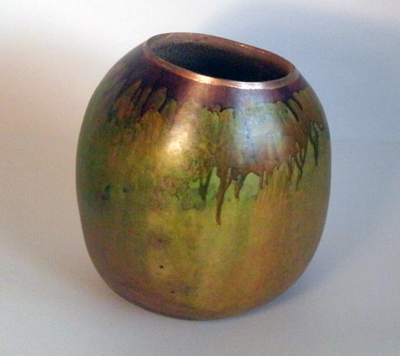Mango gourd art vase GourdMaster acrylic