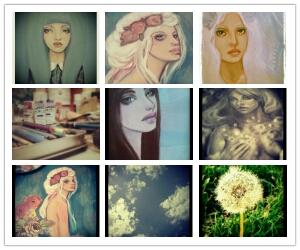 Instagram photogrid KatCanPaint