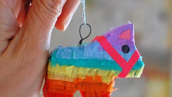 diy tiny donkey pinata craft pinterest
