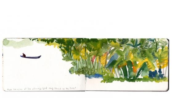 now imagine... painting by Lara Harwood