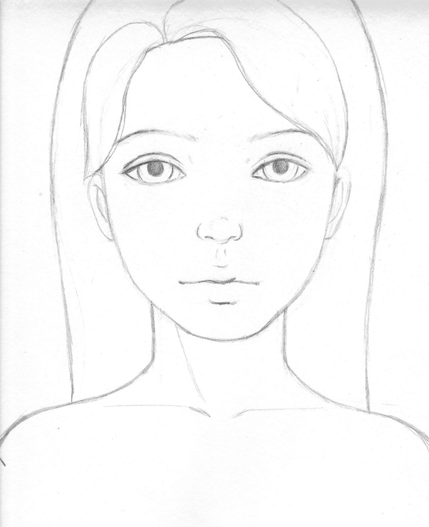 Yay free face template pattern to paint for this blog workshop we will be painting this lovely girl from start to finish so feel free to print and