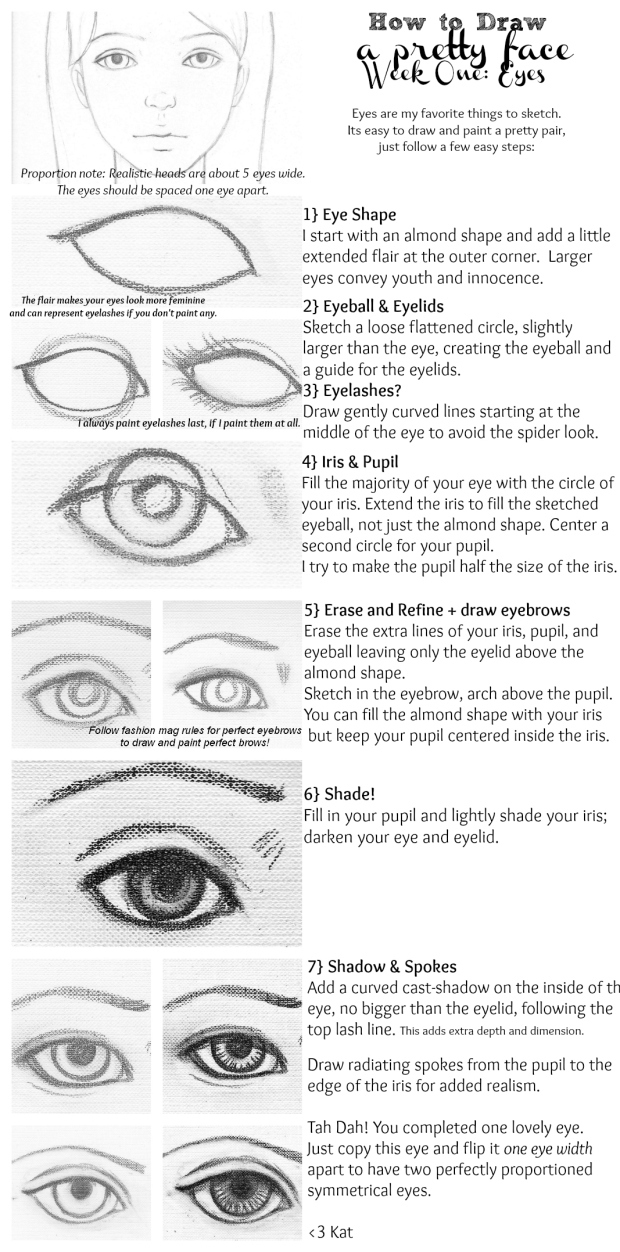 One Line Art Tutorial : Free painting tutorial how to draw a pretty face week